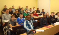 CRANE BS&U TRAINS UNDERGRADUATES IN IRELAND