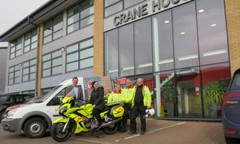 Crane Donations Buy Life Saving Bike For SERVSC