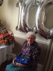 Ex-Crane Employee, Phyllis Blacker Turns 100