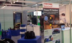 Helden attend WETEX exhibition