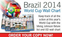 Viking Johnson World Cup Wall chart Posters Now Available